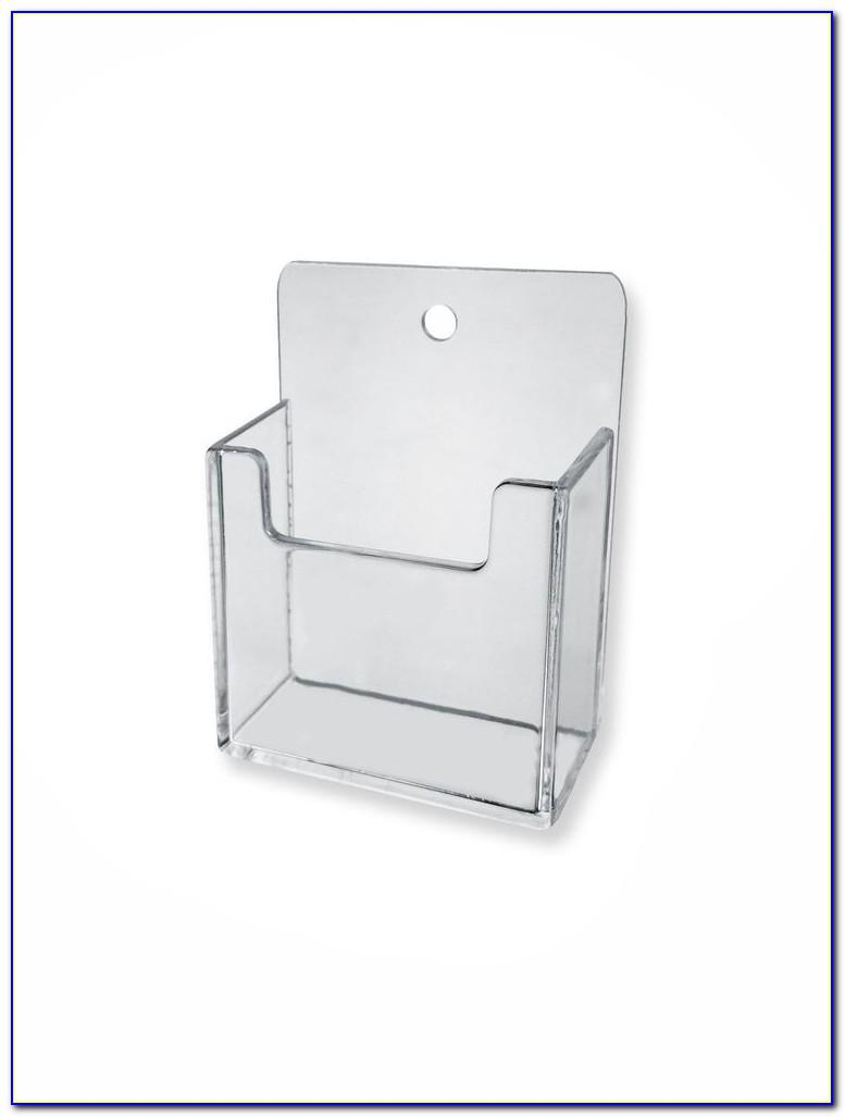 Wall Mount Business Card Holder Rack