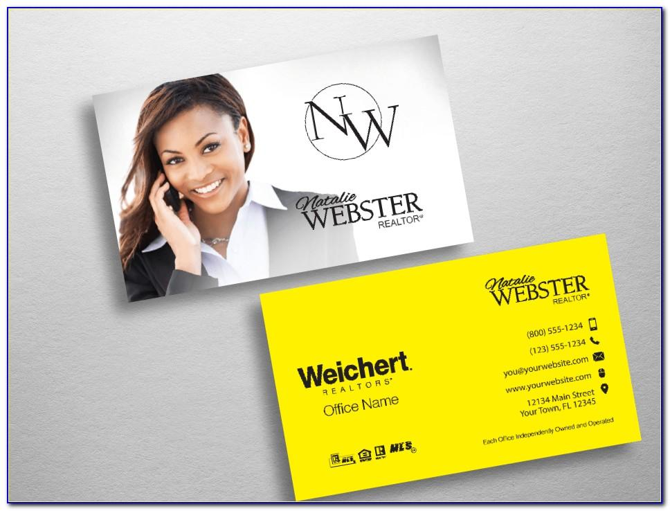 Weichert Business Card Template