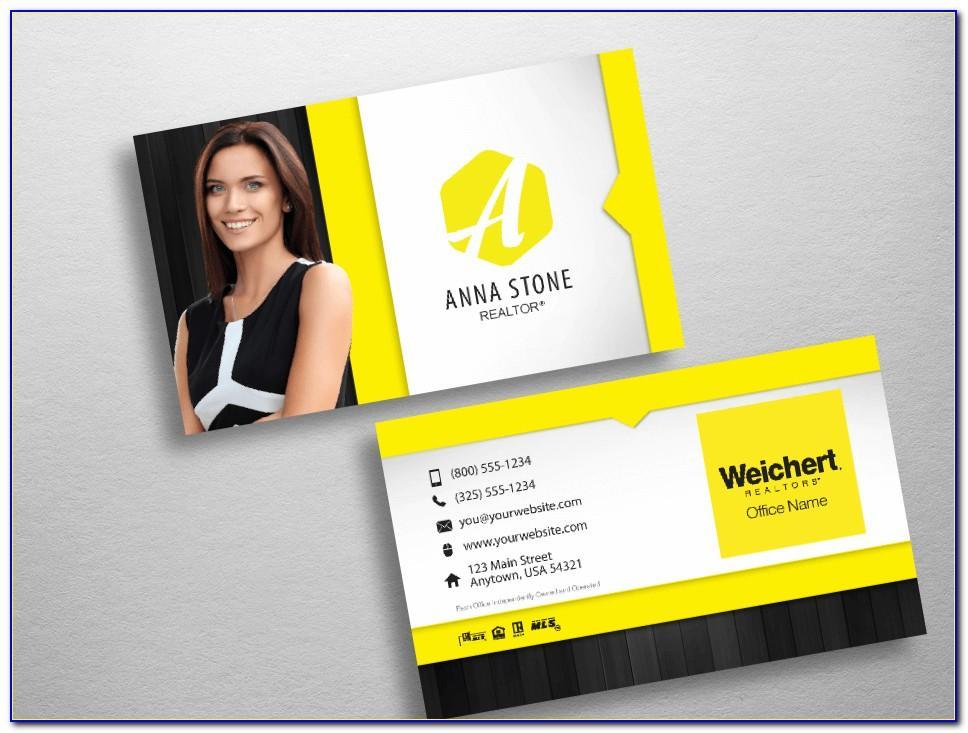 Weichert Business Cards