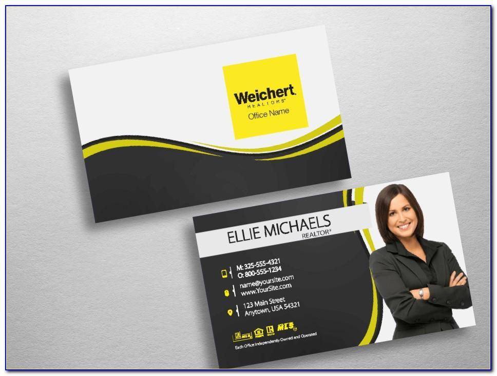 Weichert Realtors Business Cards
