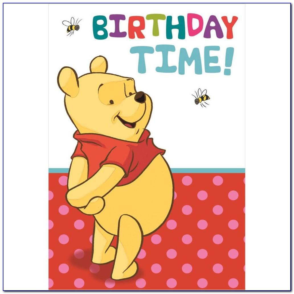 Winnie The Pooh Greeting Cards Free