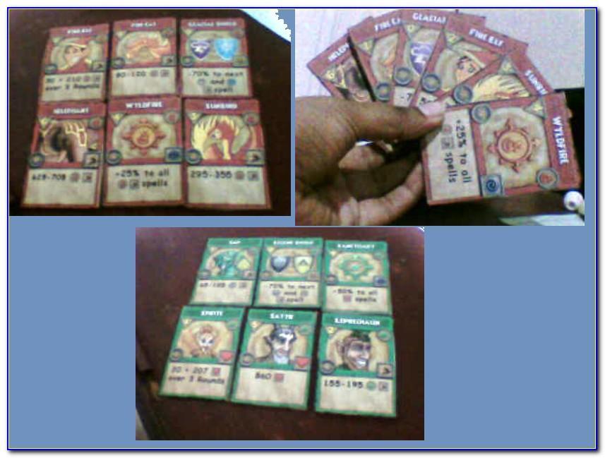 Wizard101 Free Membership Cards