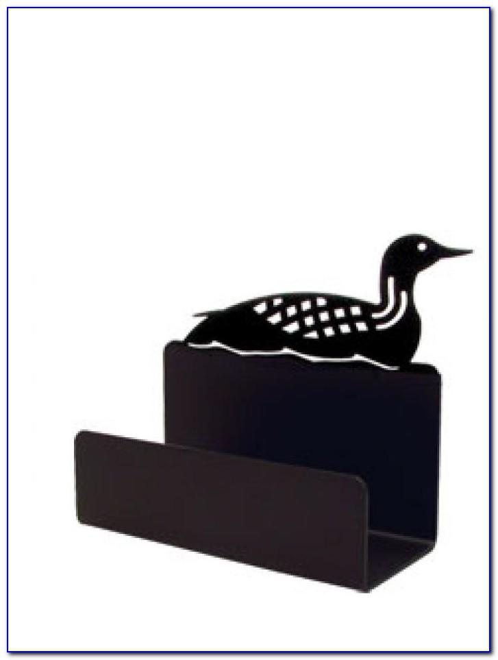 Wrought Iron Business Card Holder
