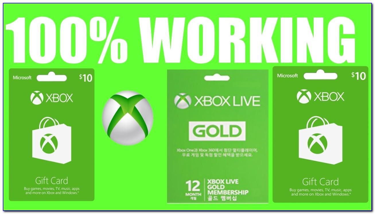 Xbox Live Card Free Trial