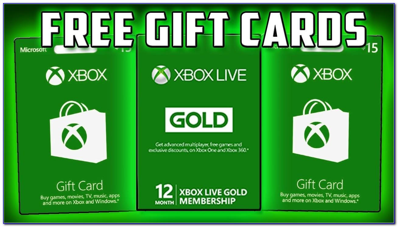 Xbox Live Cards Free