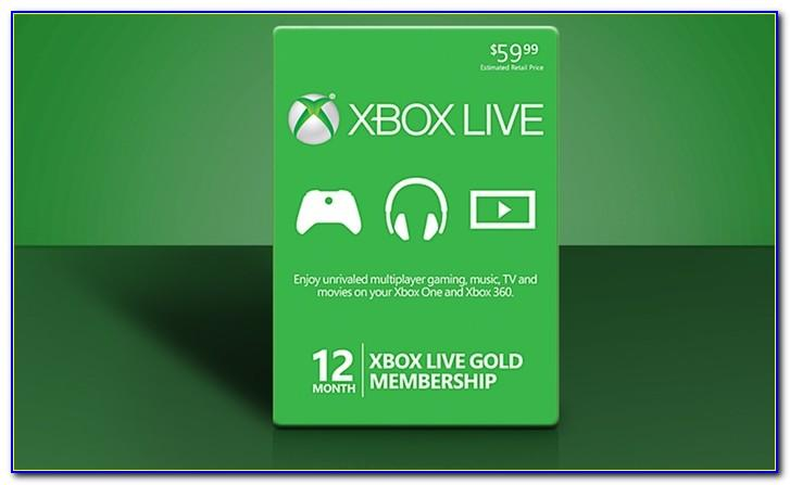Xbox Live Gift Card Free Codes