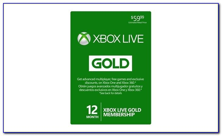 Xbox Live Gift Cards Free