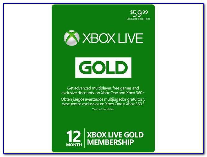 Xbox One Live Cards Free