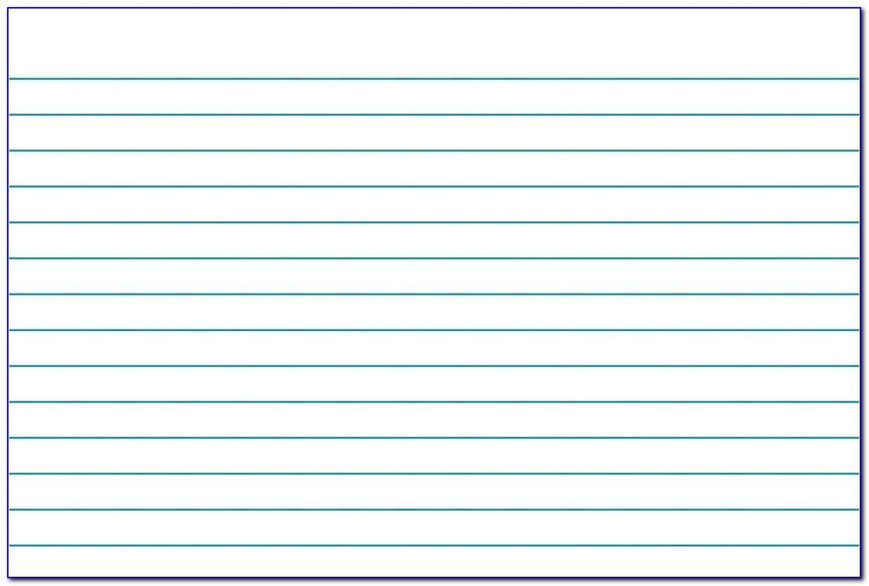 3x5 Index Card Template Microsoft Word On Ipad