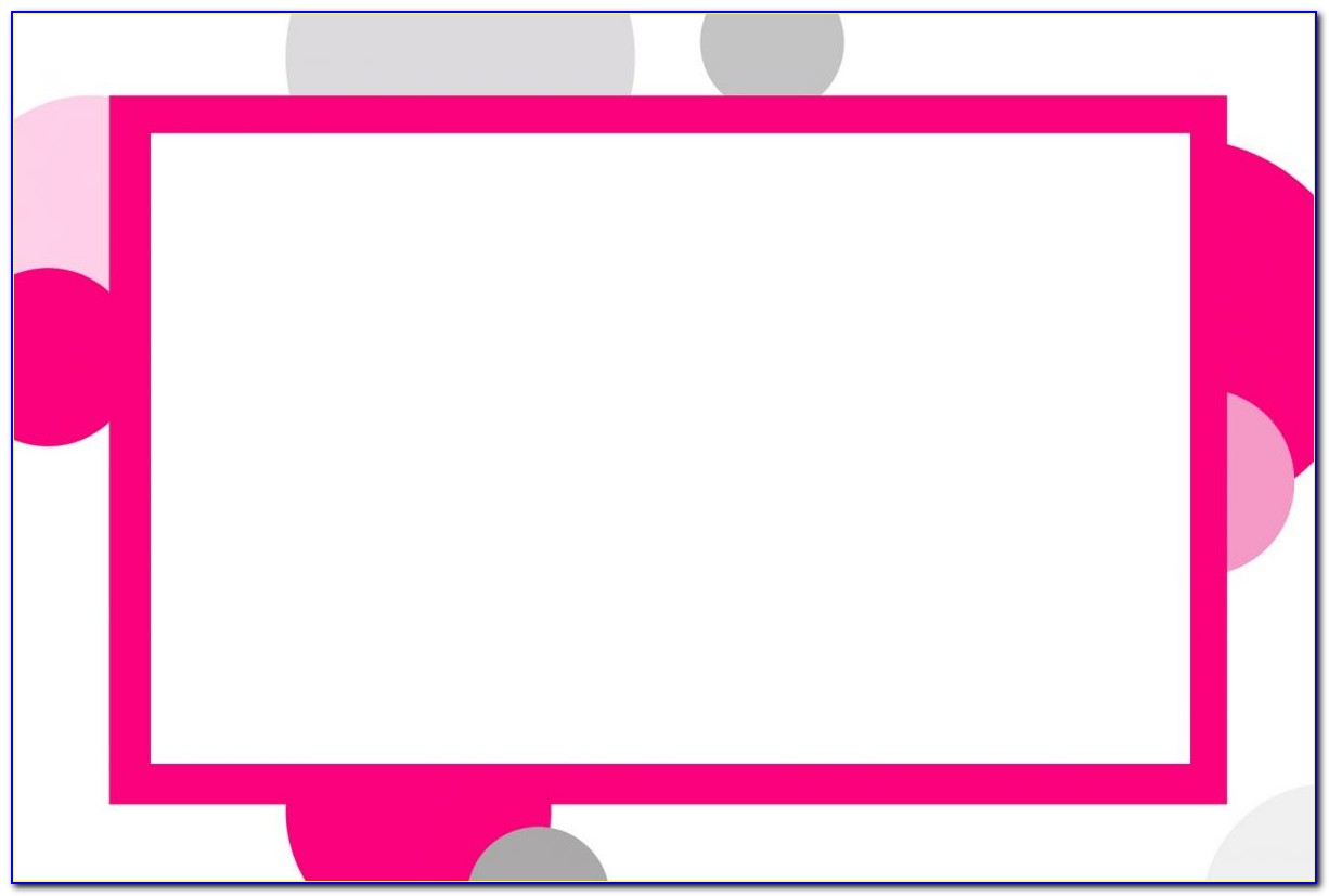 4x6 Card Template Word