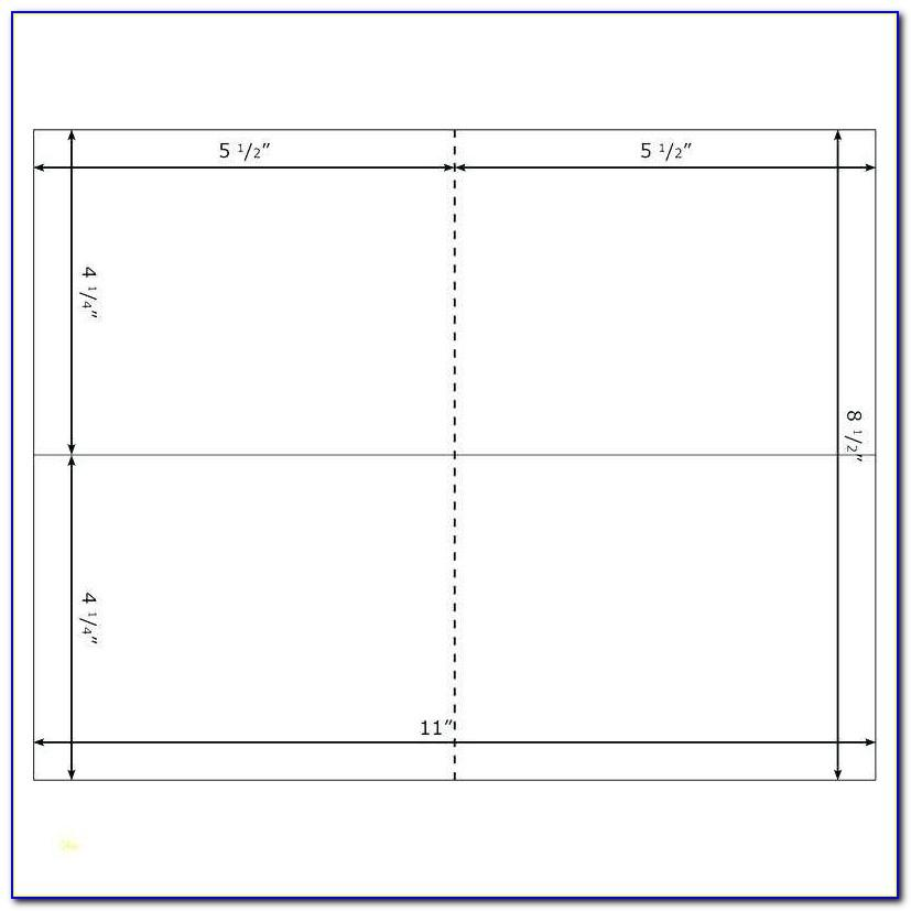 4x6 Index Card Template Pdf