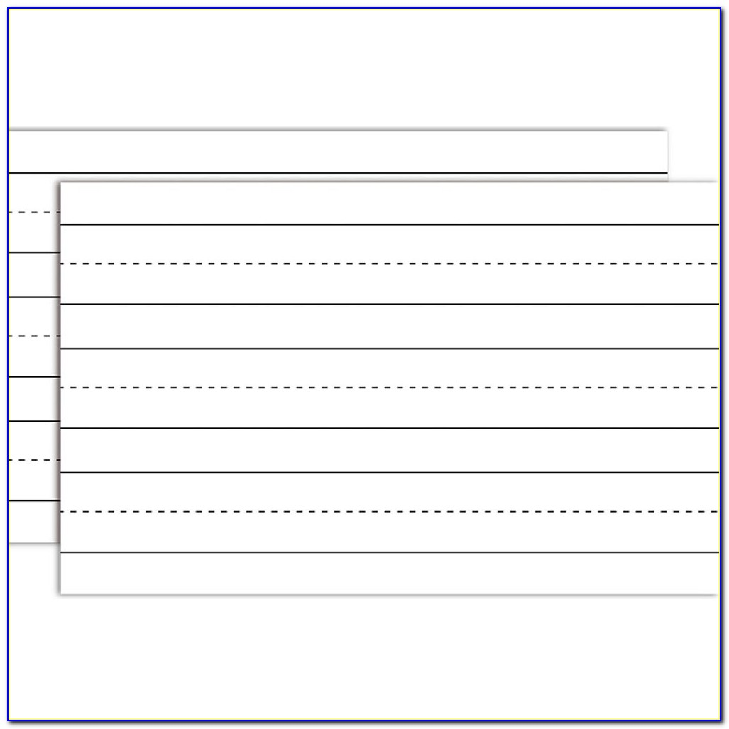 5x8 Note Card Template