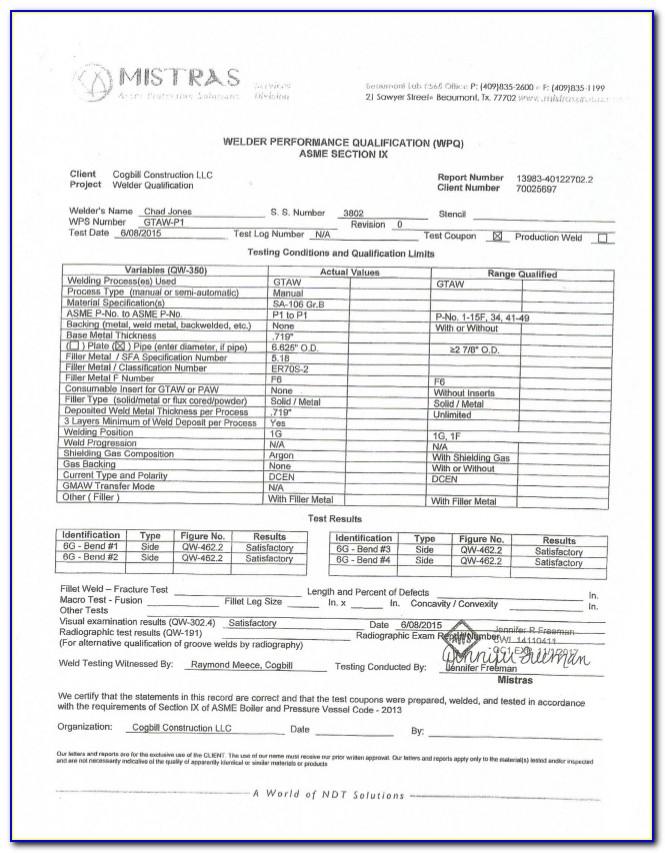 6g Welding Certification Cost Uk
