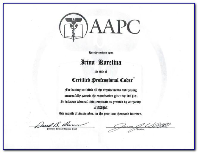 Aapc Coding Certification Online