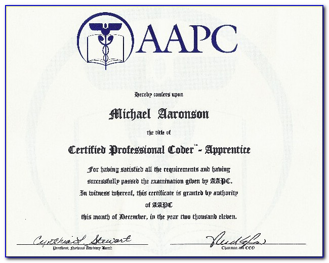 Aapc Coding Certification Reviews