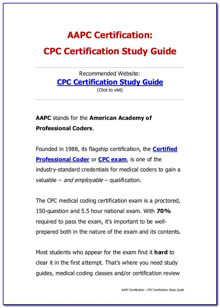 Aapc Coding Certification Test
