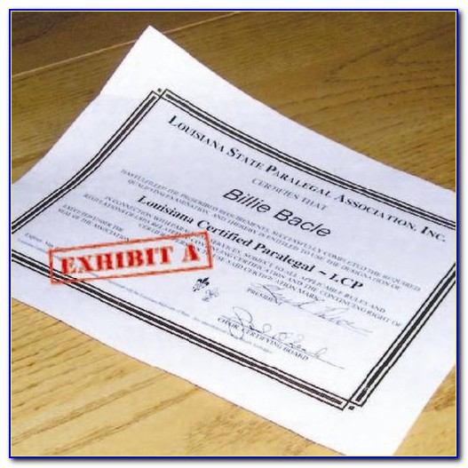 Aba Paralegal Certificate Mn