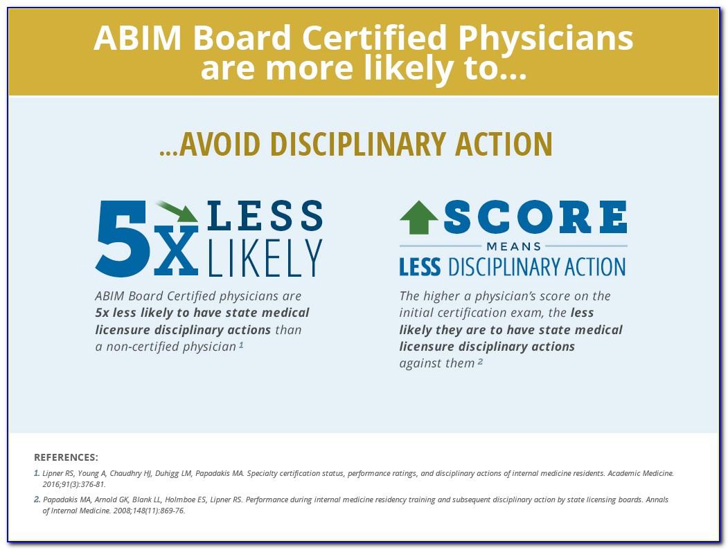 Abim Board Certification Expiration