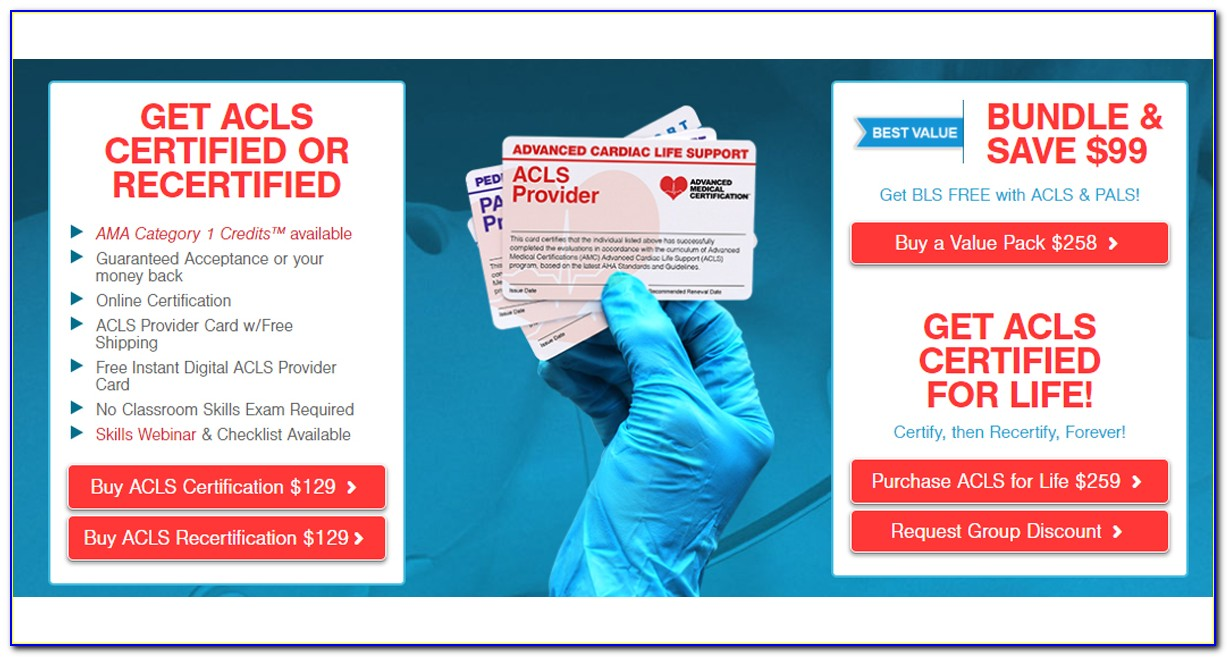 Acls Certification Card Lookup