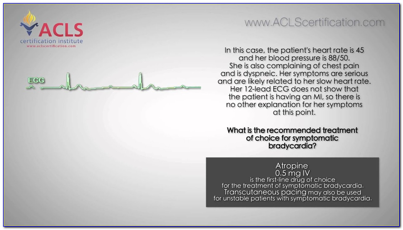 Acls Certification Check