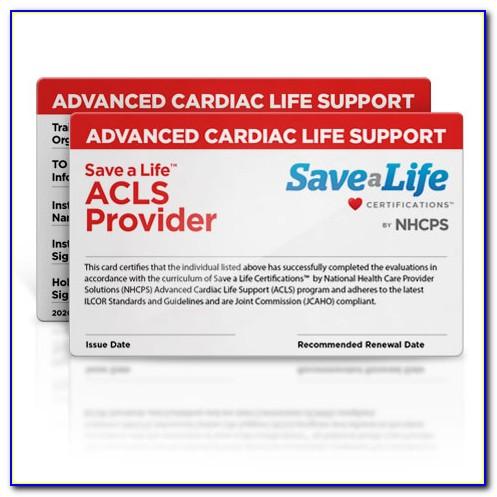 Acls Certification Online Lookup