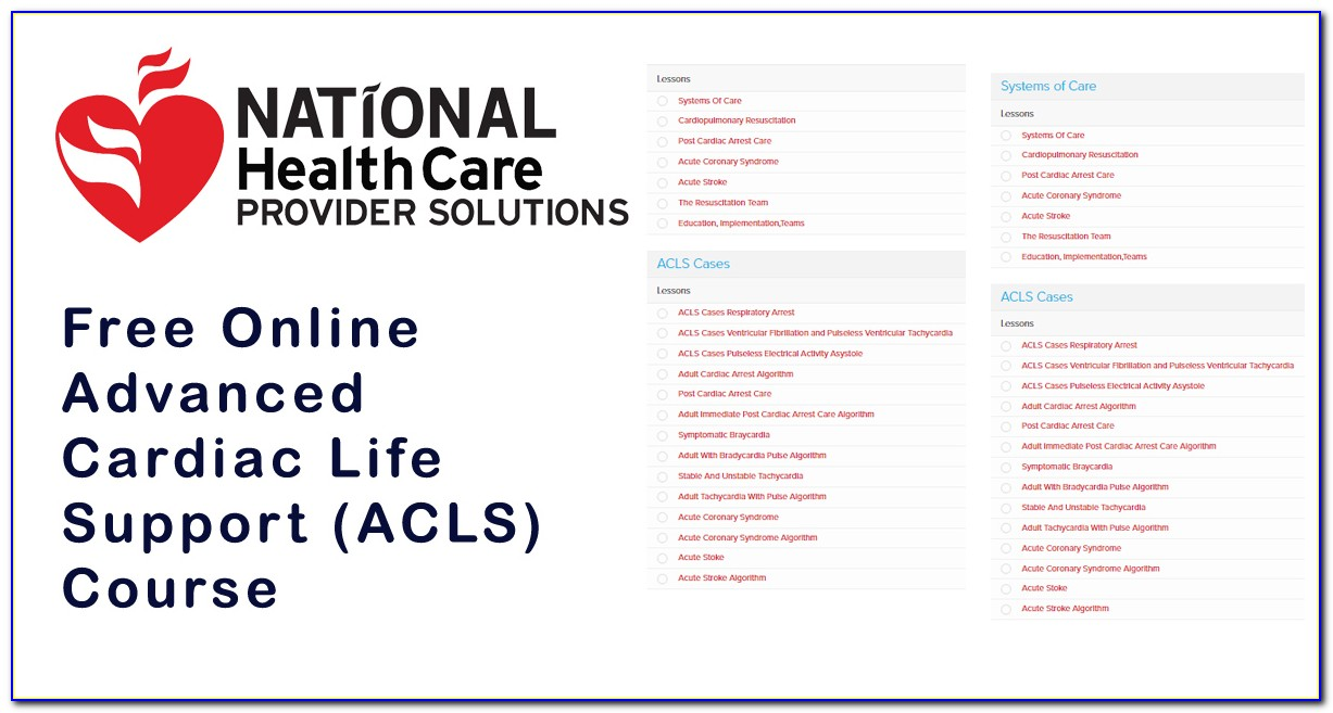 Acls Certification Search