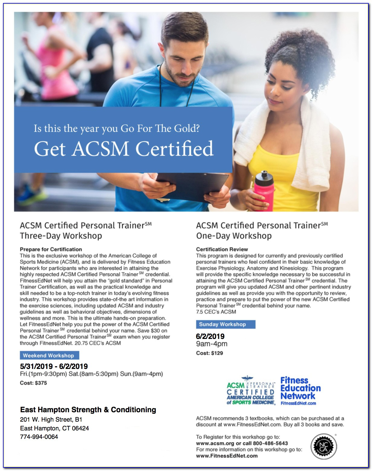 Acsm Personal Training Certification Study Guide