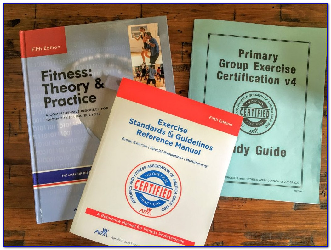 Afaa Group Fitness Certification Study Guide