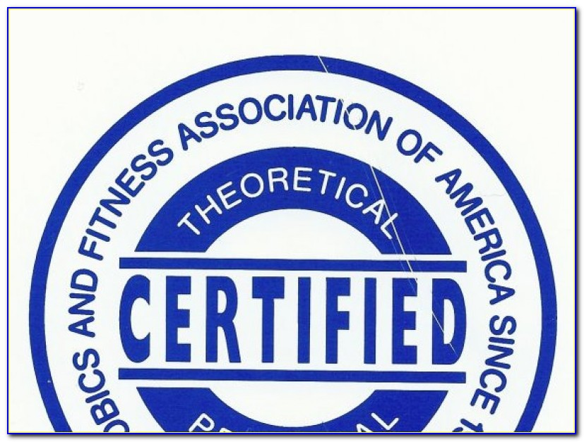 Afaa Group Fitness Instructor Certification