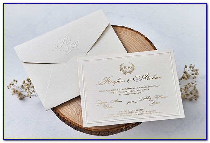 Afghan Wedding Invitation Cards