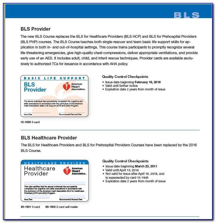 Aha Bls Certification Cost