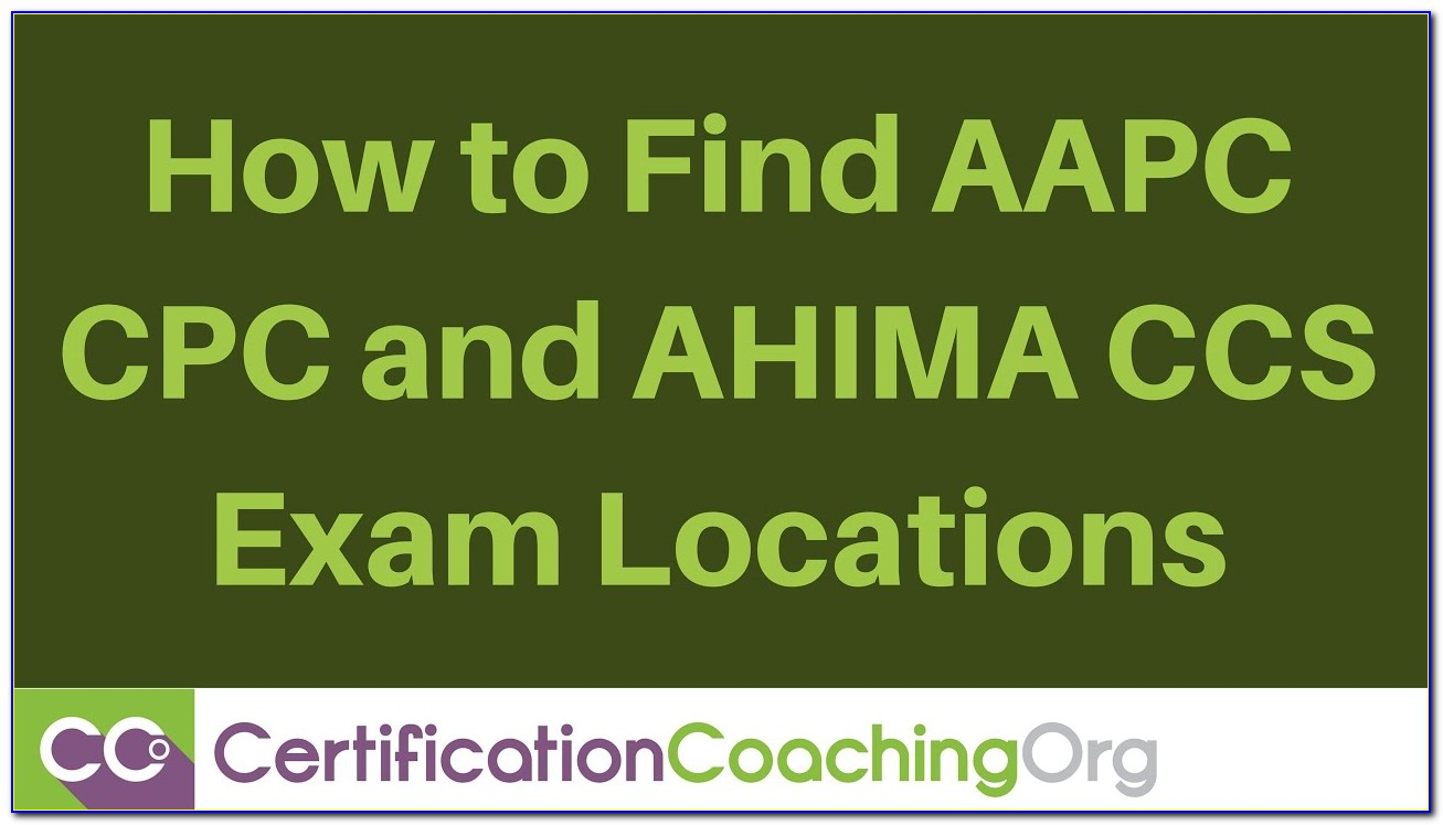 Ahima Coding Certification Requirements