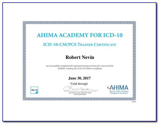Ahima Coding Certification Test