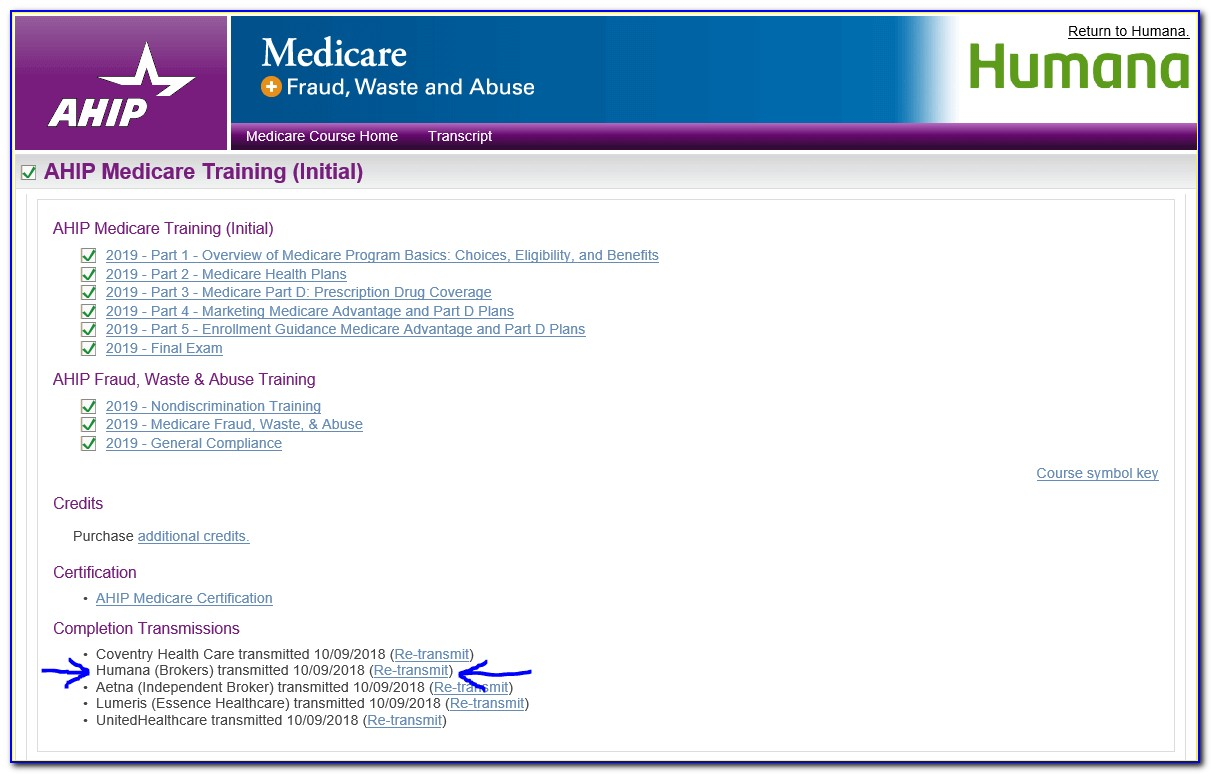 Ahip Medicare Certification 2019