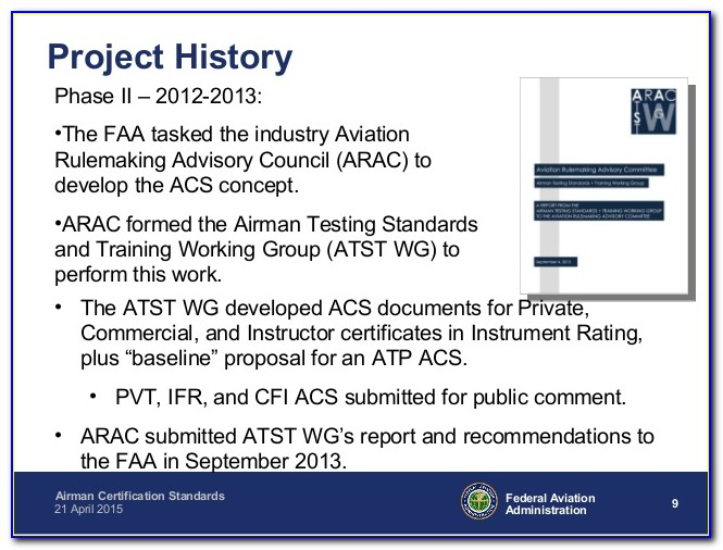 Airman Certification Standards Commercial