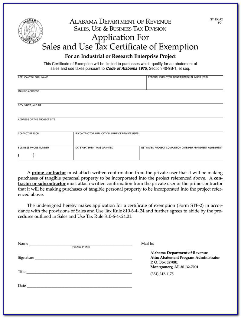 Alabama Resale Certificate Expiration