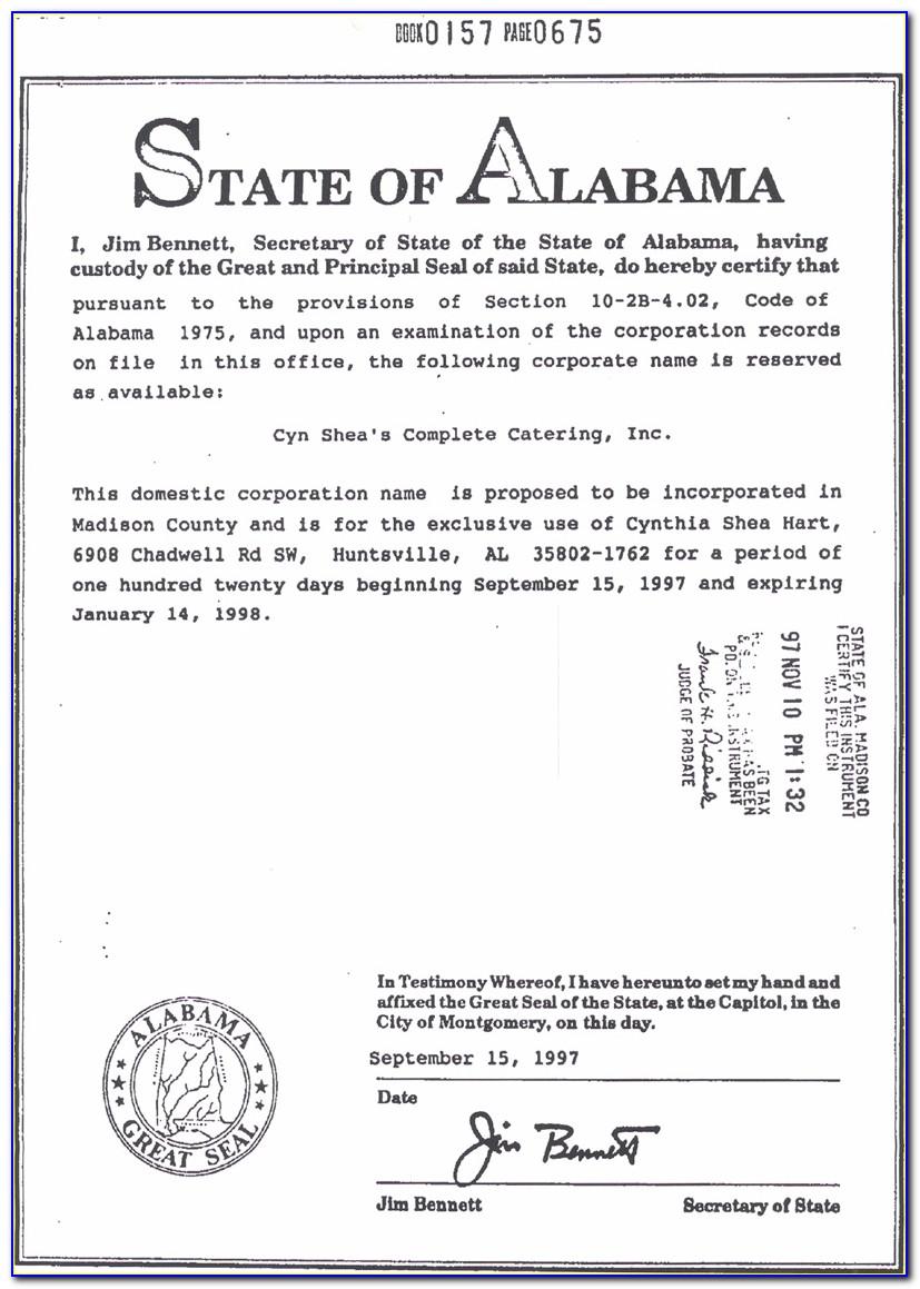 Alabama Resale Certificate Verification