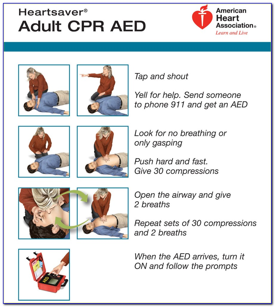American Heart Association Cpr Aed Certification Online