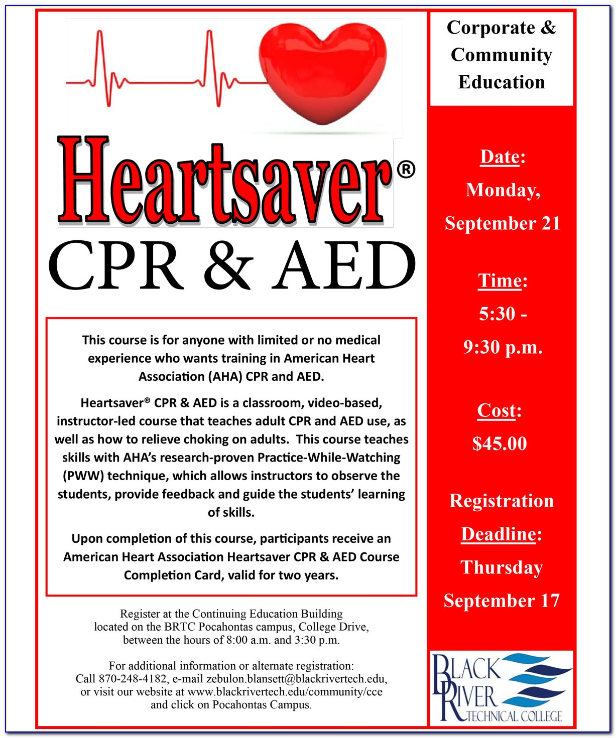 American Heart Association Cpr Aed Certification