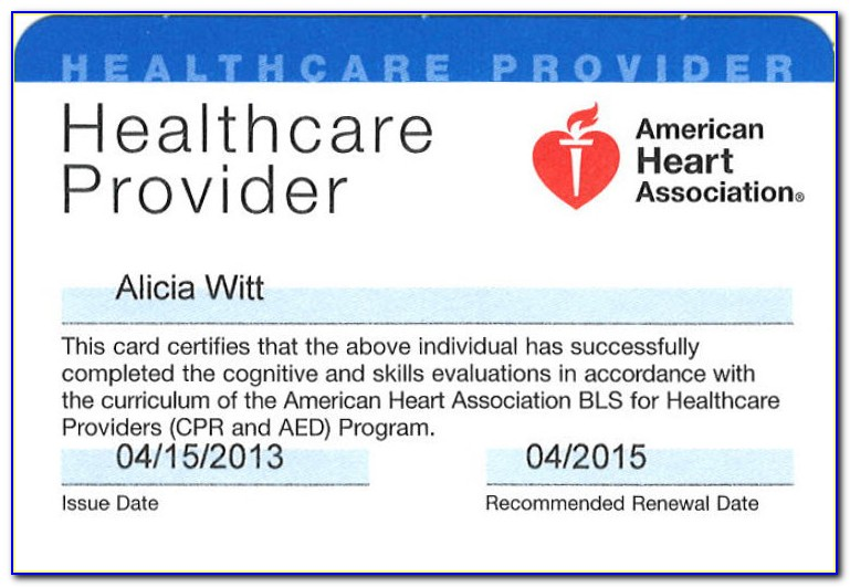 American Heart Association Cpr Aed Instructor Certification