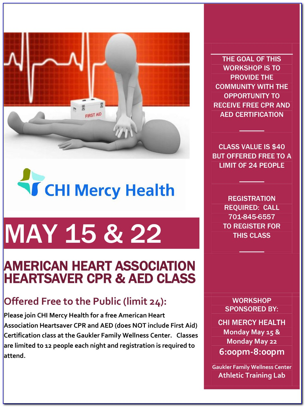 American Heart Association Heartsaver Cpr Aed Certification