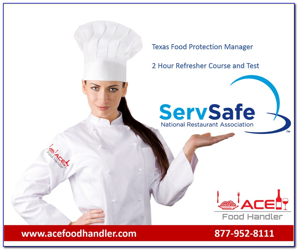 Ansi Food Handler Certificate Illinois