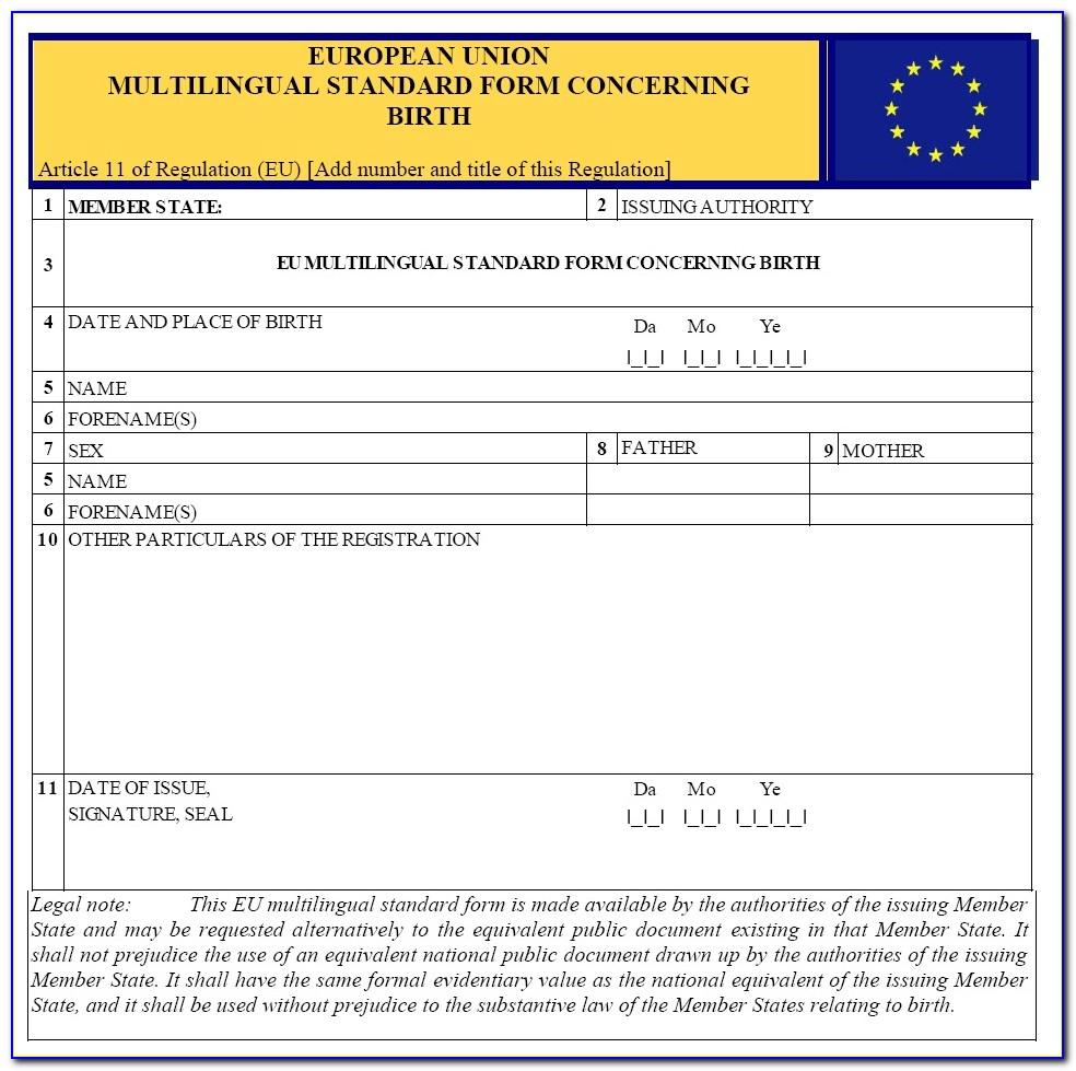 Apostille Birth Certificate Illinois