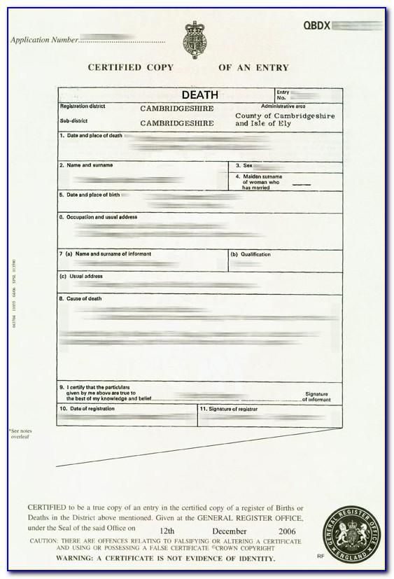 Apostille Birth Certificate India