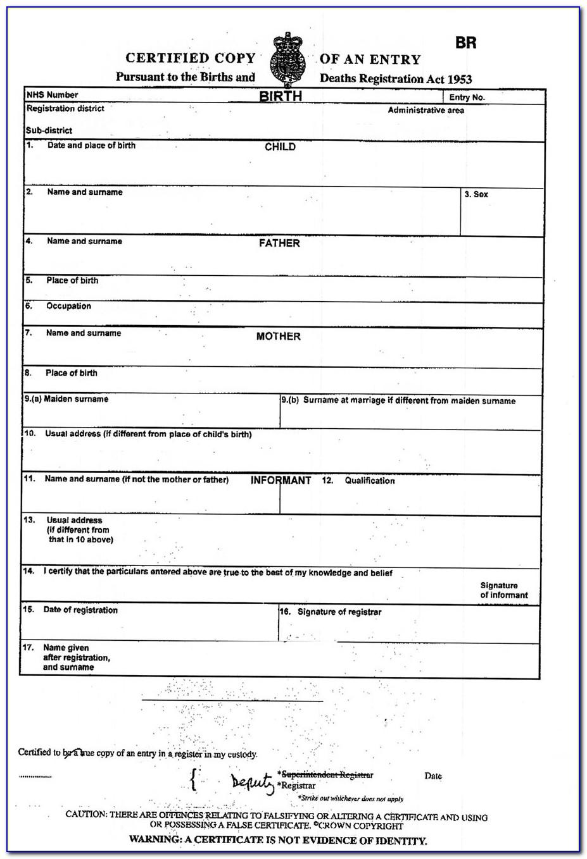 Apostille Birth Certificate Texas