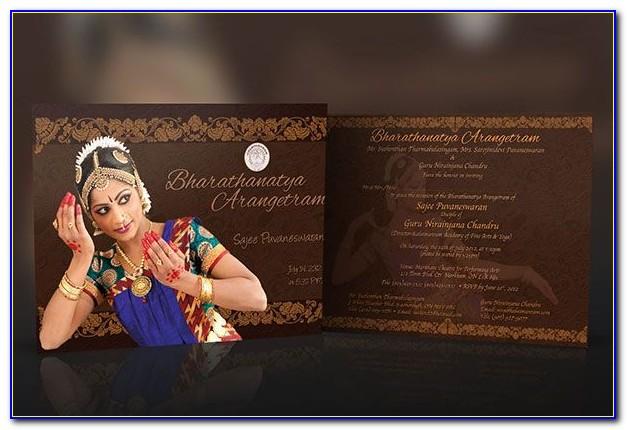 Arangetram Invitation Cards Chennai