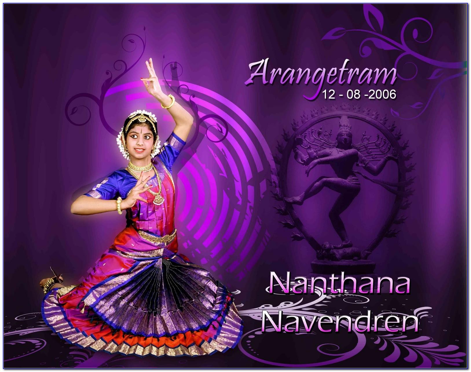 Arangetram Invitation Cards Hyderabad