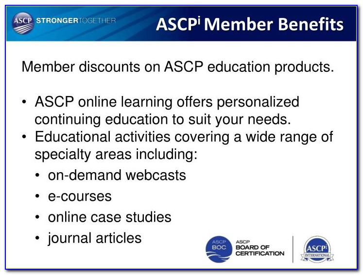 Ascp Certification Lookup