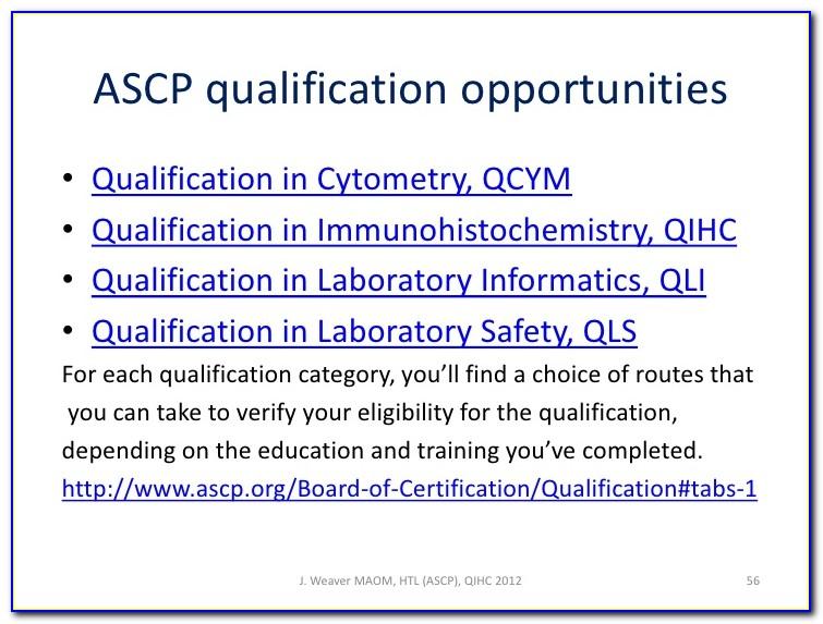 Ascp Certification Verification