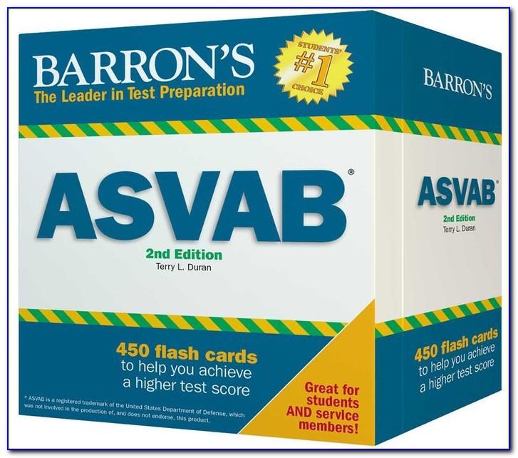 Asvab Flash Cards Printable
